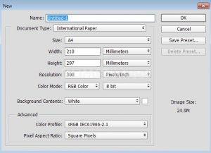 Cara Membuat Kanvas Baru di Adobe Photoshop
