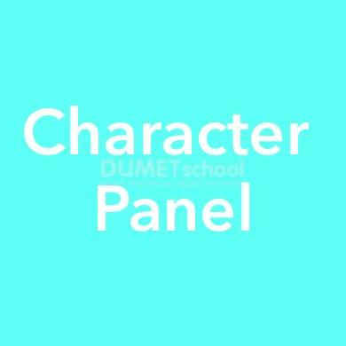 Cara Menggunakan Character Panel Part 1