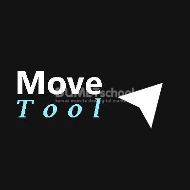 Cara Menggunakan Move Tool di Adobe Photoshop