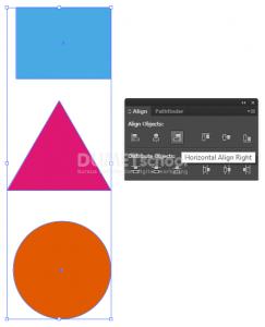 Cara Menggunakan Panel Align di Adobe Illustrator
