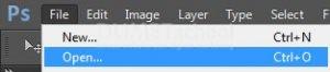Cara Menghapus Objek dengan Eraser Tool di Adobe Photoshop