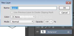 Menghilangkan Warna Background Logo dengan Magic Wand Tool di Photoshop