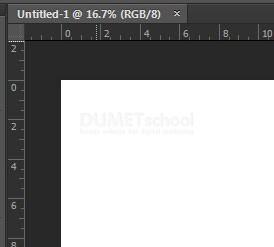 Cara Memunculkan dan Menghilangkan Penggaris di Adobe Photoshop