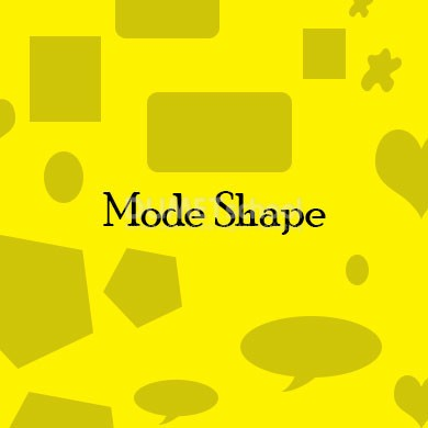 Mengenal Macam - Macam Mode Shape di Adobe Photoshop