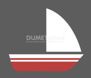 Cara Membuat Perahu di Adobe Illustrator