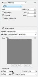 Cara Menyimpan Slice Tool di Adobe Photoshop