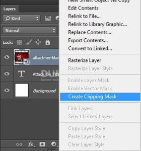 Memasukkan Foto Ke Dalam Tulisan Di Adobe Photoshop