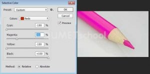 v Mengganti Warna Foto dengan Menggunakan Selective Color di Photoshop