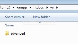 install-framework-yii-rangga8-080817