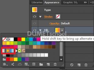 Cara Membuat Warna Gradient Pada Text di Illustrator