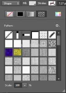 Memberikan Warna Pattern pada Panel Properties di Photoshop