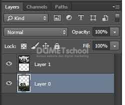 Menggunakan brightness atau contrast dengan Layer Adjustment di Adobe Photoshop