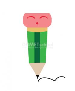 Cara Membuat Stiker Pensil di Illustrator