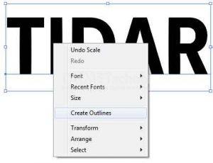 memotong teks dengan pathfinder di adobe illustrator