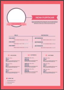 Cara Membuat Tamplate CV di Illustrator