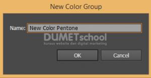 Cara Menampilkan Warna Pantone di Adobe Illustrator