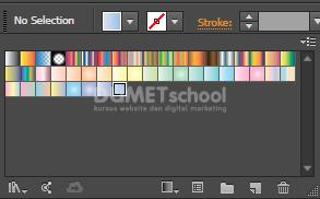 Cara Menampilkan Warna Gradient Lebih Banyak di Illustrator