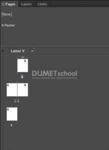 Membuat Alternatif Layout di Adobe Indesign