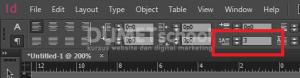 cara membuat drop cap di adobe indesign