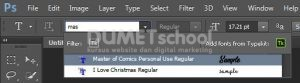 Cara Install Font untuk Software Adobe