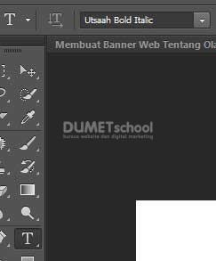 Membuat Banner Web Tentang Olahraga di Adobe Photoshop