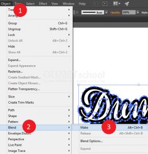 Membuat Stroke Tanpa Menghalangin Warna Fill di Adobe Illustrator