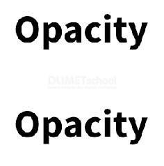 Perbedaan Opacity di layer dan Opacity di Layer Style pada Photoshop