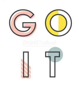 Membuat Efek Warna Pada Text di Illustrator