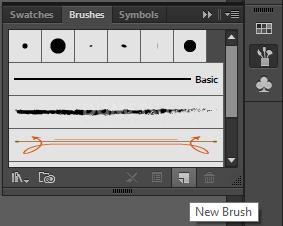 Membuat Awan Dengan Menggunakan Brush di Illustrator