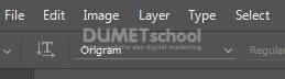 Membuat Teks Origami di Adobe Photoshop