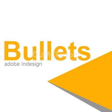 memberikan Bullets atau simbol setiap kalimat di adobe Indesign