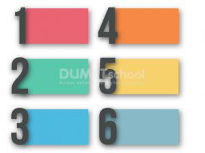 Cara Membuat Atribut Infografis yang Penuh Warna