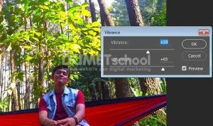 Edit Warna foto dengan vibrance di Adobe Photoshop