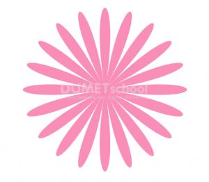 Cara Membuat Bunga Menggunakan Polygon Tool