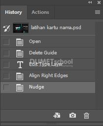 Menggunakan History di Adobe Photoshop
