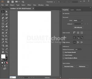 Perbedaan Workspace yang Baru dan Lama di Adobe Illustrator
