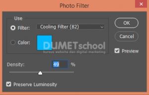 Efek Cool dan Efek Warm Pada Gambar di Photoshop