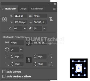 Agar Stroke di Adobe Illustrator tidak Mengecil saat objek di Scale