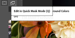 Cara Menggunakan Edit in Quick Mask Mode di Adobe Photoshop