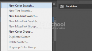 Cara Membuat Palette di Adobe InDesign