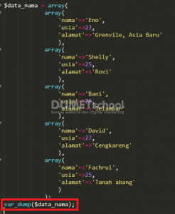 Cara Looping Array Associative Dengan Foreach PHP
