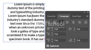 Mengatur Paragraf di Adobe Illustrator