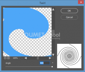 Cara Membuat Lingkaran Spiral di Photoshop