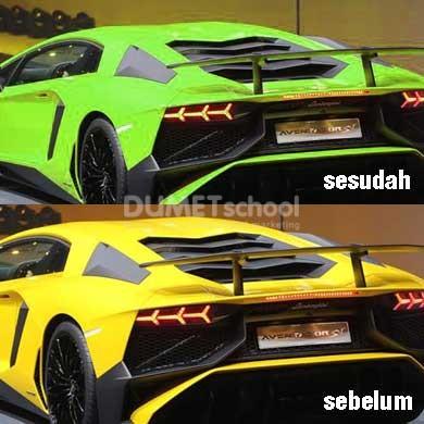 Cara Mengganti Warna Mobil di Adobe Photoshop