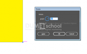 Tips Menggunakan Rotate Tool di Adobe Illustrator