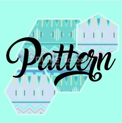 Membuat Pattern Geometris di Illustrator