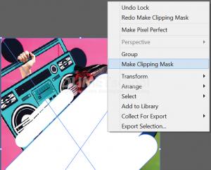 Cara Membuat Desain Reveals di Illustrator