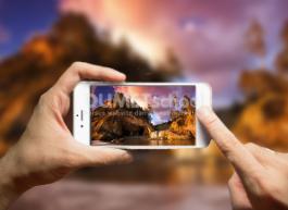 Membuat Mock-Up Kamera Telepon di Photoshop