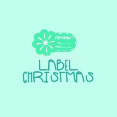 Cara Membuat Label Cristmas di Illustrator