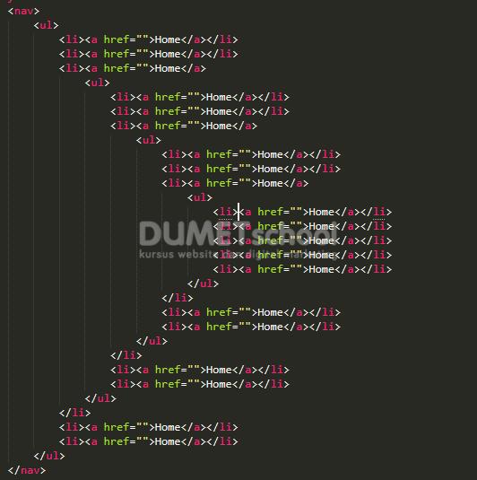 Memanfaatkan Flex CSS Untuk Drop Down Menu